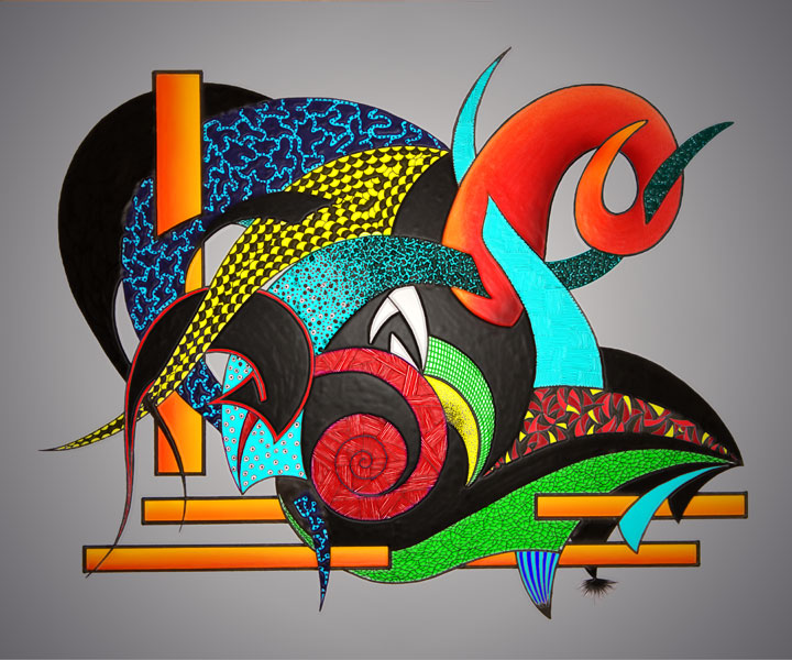 Aries, abstract design by Guillermo Parada